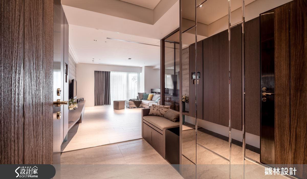 60坪新成屋(5年以下)_簡約風走廊案例圖片_觀林設計_觀林_33之2