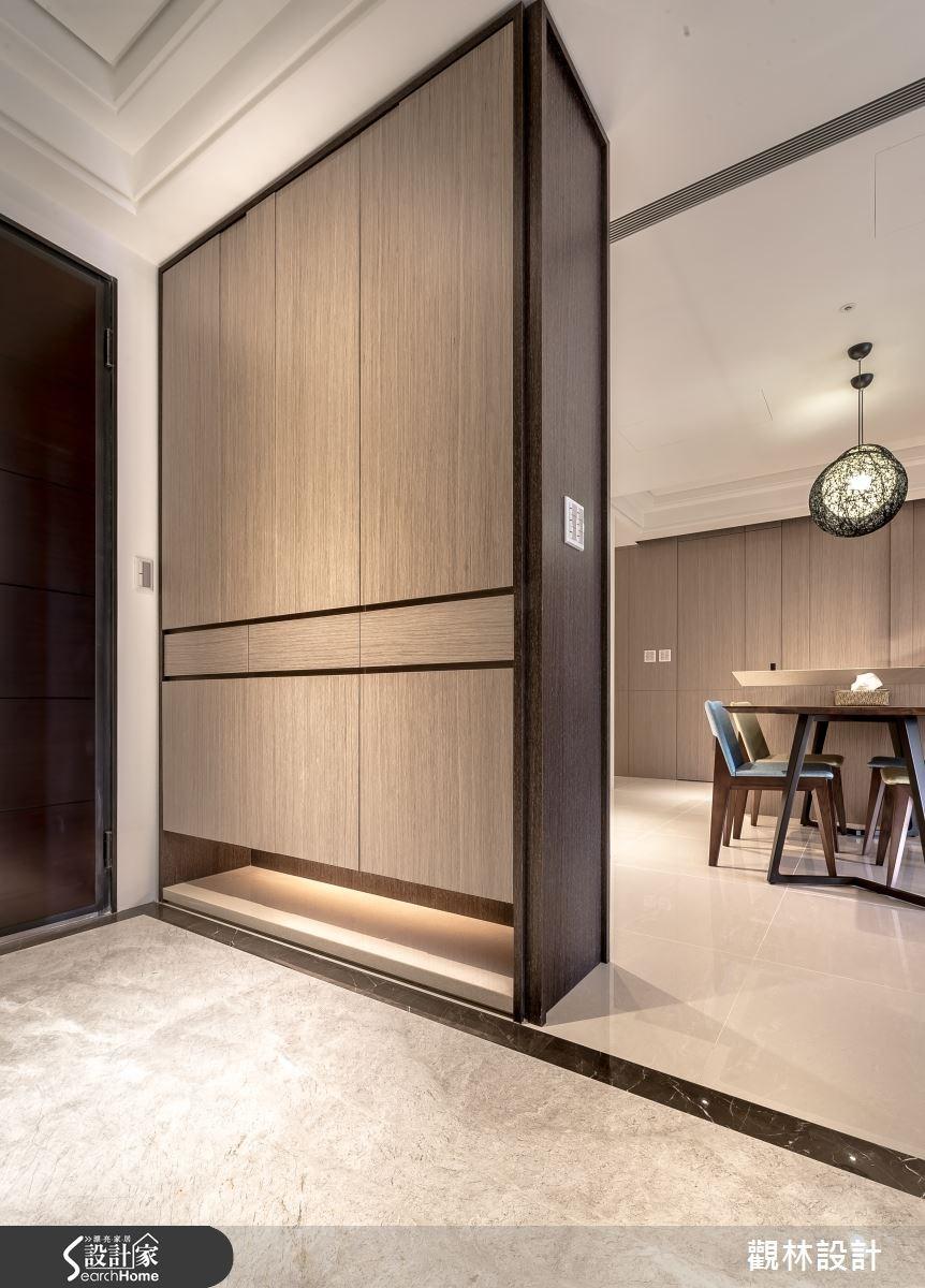 46坪新成屋(5年以下)_混搭風玄關案例圖片_觀林設計_觀林_34之1