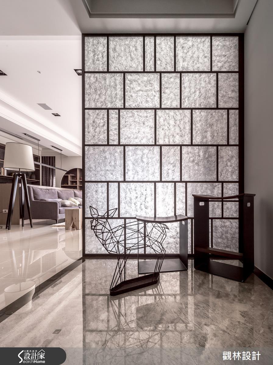 46坪新成屋(5年以下)_混搭風玄關案例圖片_觀林設計_觀林_34之3
