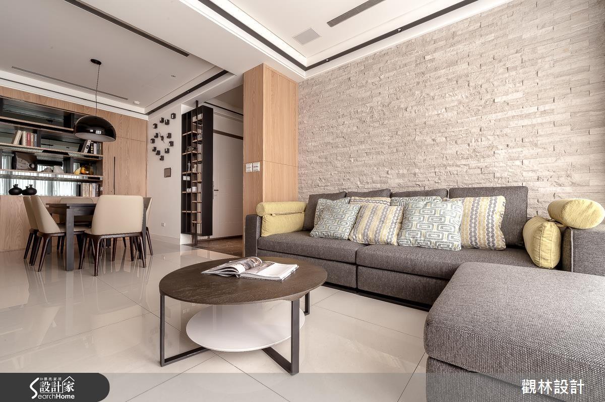 40坪新成屋(5年以下)_休閒風客廳案例圖片_觀林設計_觀林_35之3