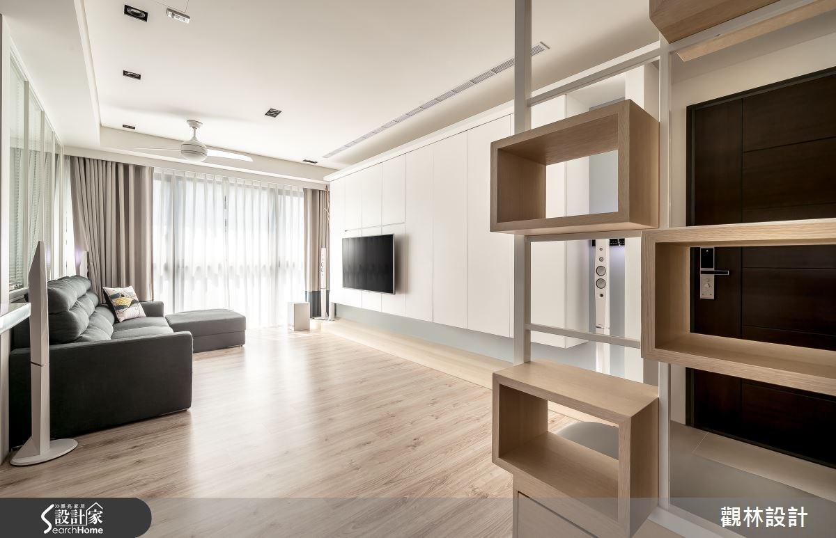 24坪新成屋(5年以下)_休閒風客廳案例圖片_觀林設計_觀林_36之4