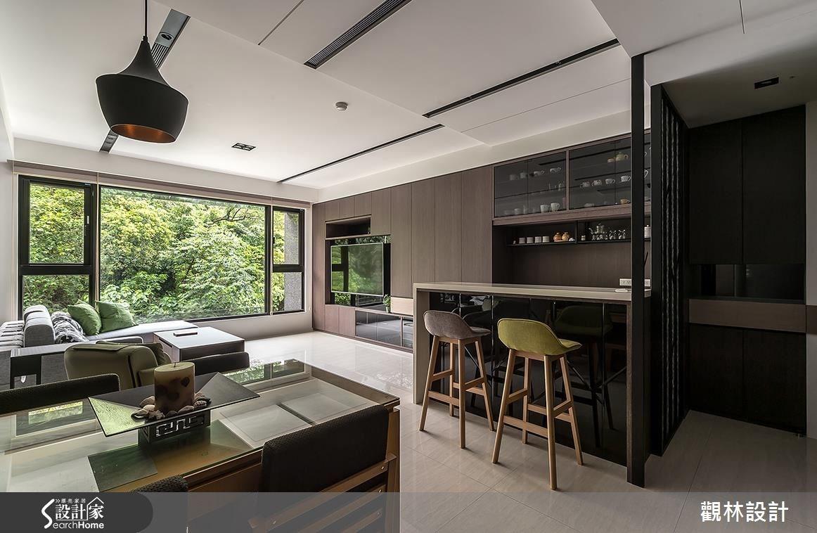 31坪新成屋(5年以下)_現代風客廳案例圖片_觀林設計_觀林_39之2
