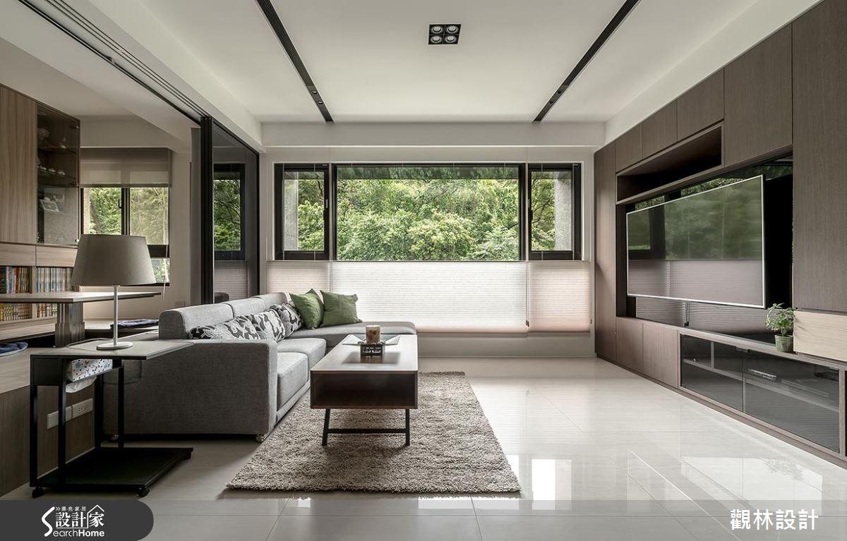 31坪新成屋(5年以下)_現代風客廳案例圖片_觀林設計_觀林_39之5