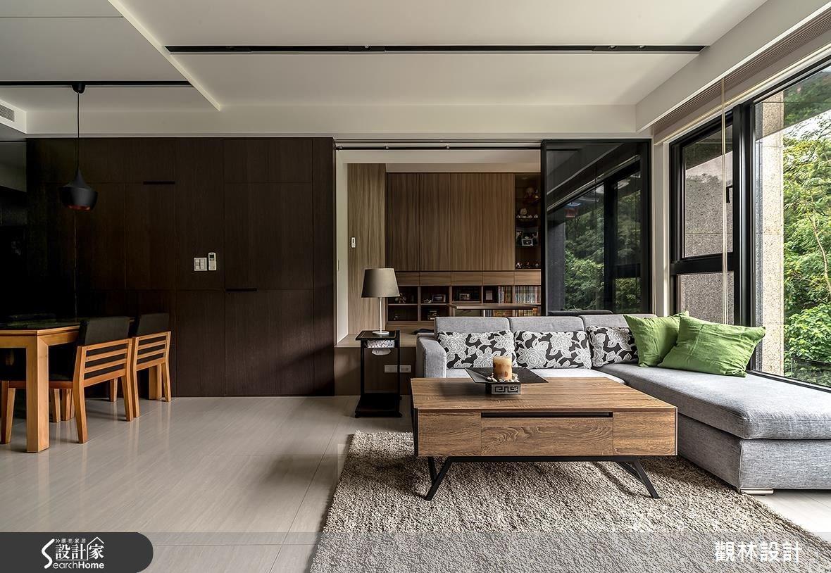 31坪新成屋(5年以下)_現代風客廳案例圖片_觀林設計_觀林_39之6