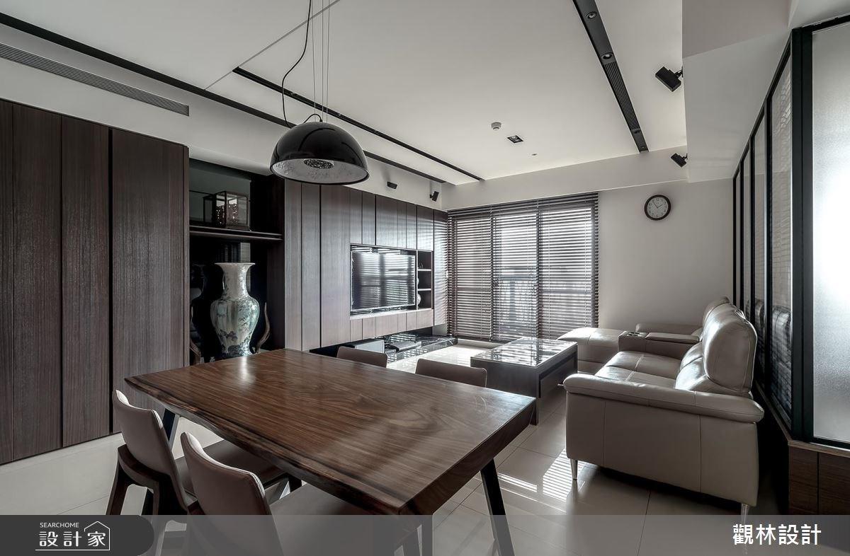 32坪新成屋(5年以下)_現代風餐廳案例圖片_觀林設計_觀林_40之2