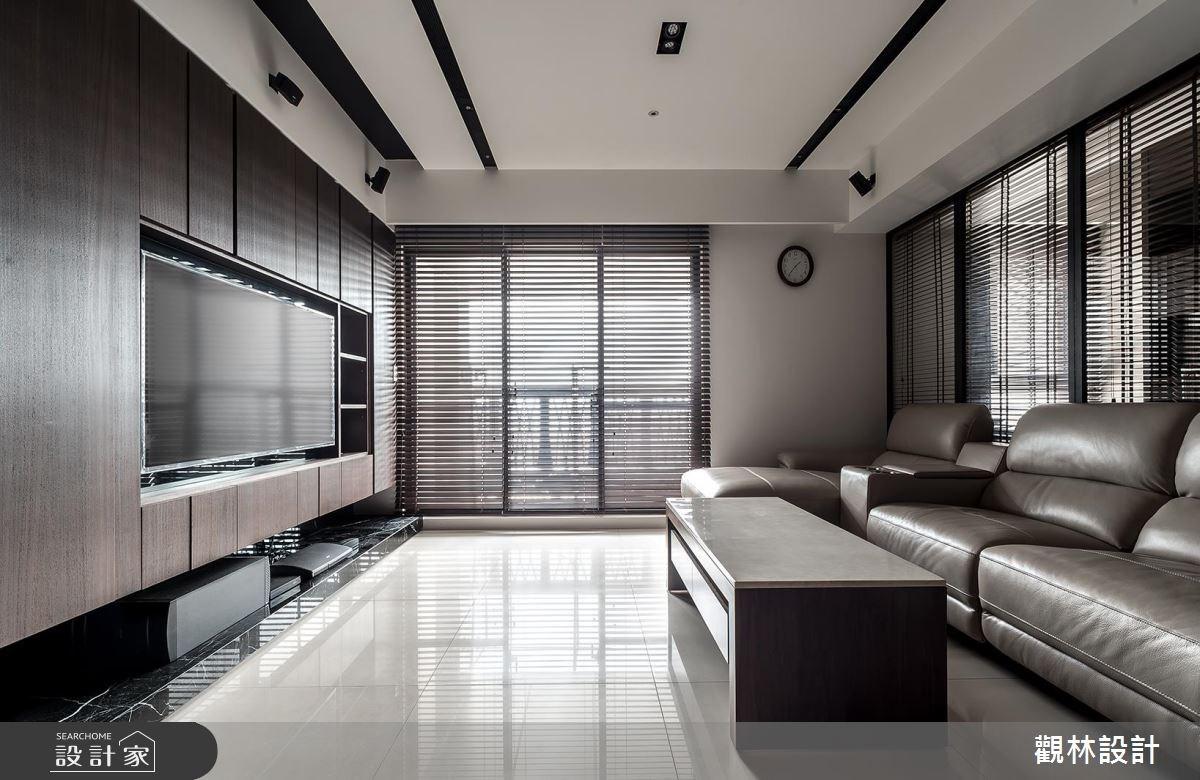 32坪新成屋(5年以下)_現代風客廳案例圖片_觀林設計_觀林_40之3