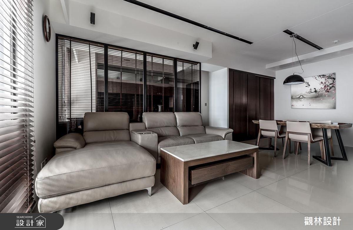 32坪新成屋(5年以下)_現代風客廳案例圖片_觀林設計_觀林_40之4