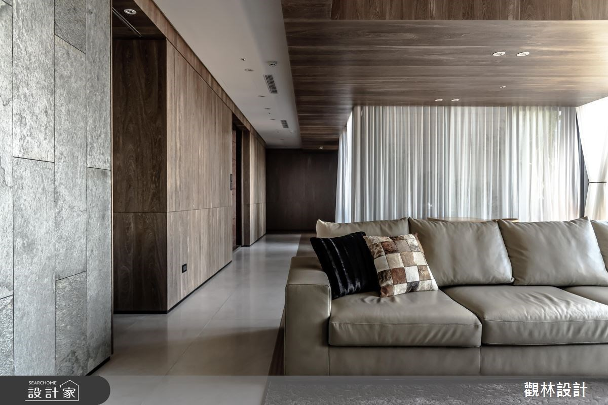 106坪新成屋(5年以下)_混搭風客廳案例圖片_觀林設計_觀林_41之2