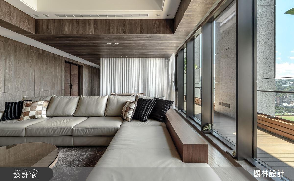 106坪新成屋(5年以下)_混搭風客廳案例圖片_觀林設計_觀林_41之4