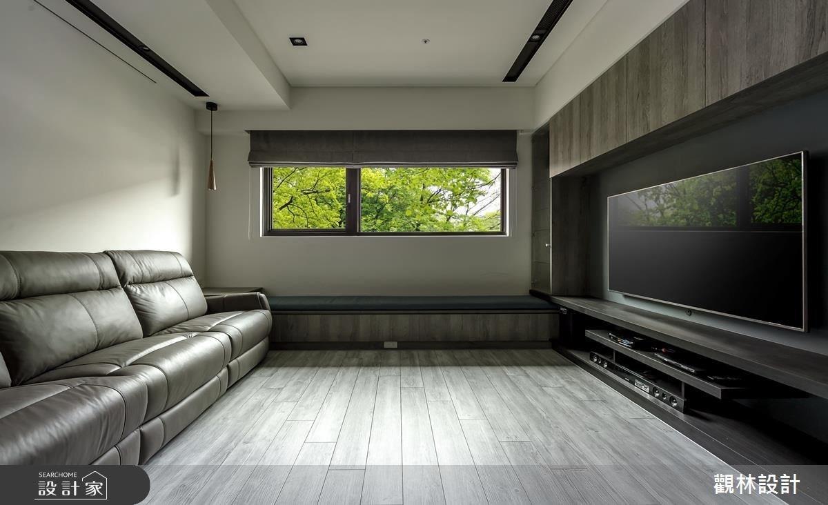 20坪新成屋(5年以下)_簡約風客廳案例圖片_觀林設計_觀林_43之5
