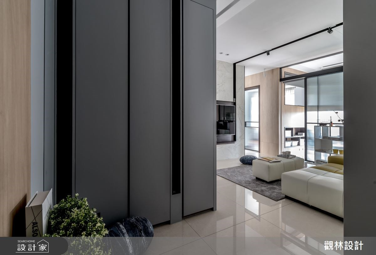 20坪新成屋(5年以下)_現代風客廳案例圖片_觀林設計_觀林_45之1