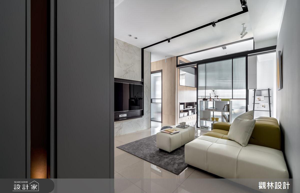 20坪新成屋(5年以下)_現代風客廳案例圖片_觀林設計_觀林_45之2