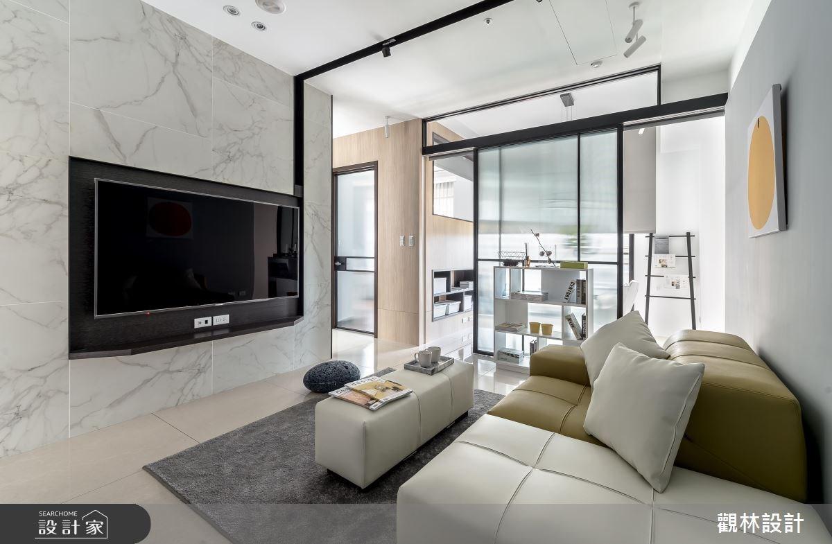 20坪新成屋(5年以下)_現代風客廳案例圖片_觀林設計_觀林_45之3