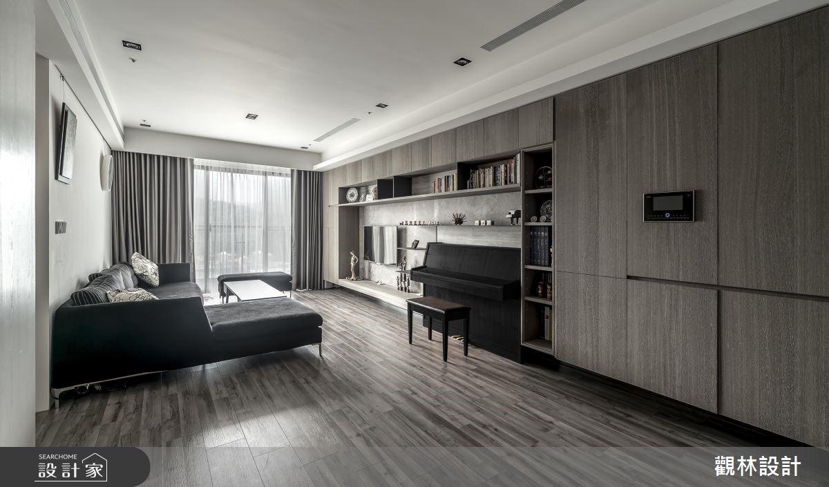 新成屋(5年以下)_混搭風客廳案例圖片_觀林設計_觀林_46之2
