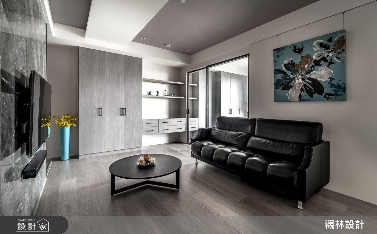 19坪新成屋(5年以下)_混搭風客廳案例圖片_觀林設計_觀林_47之2