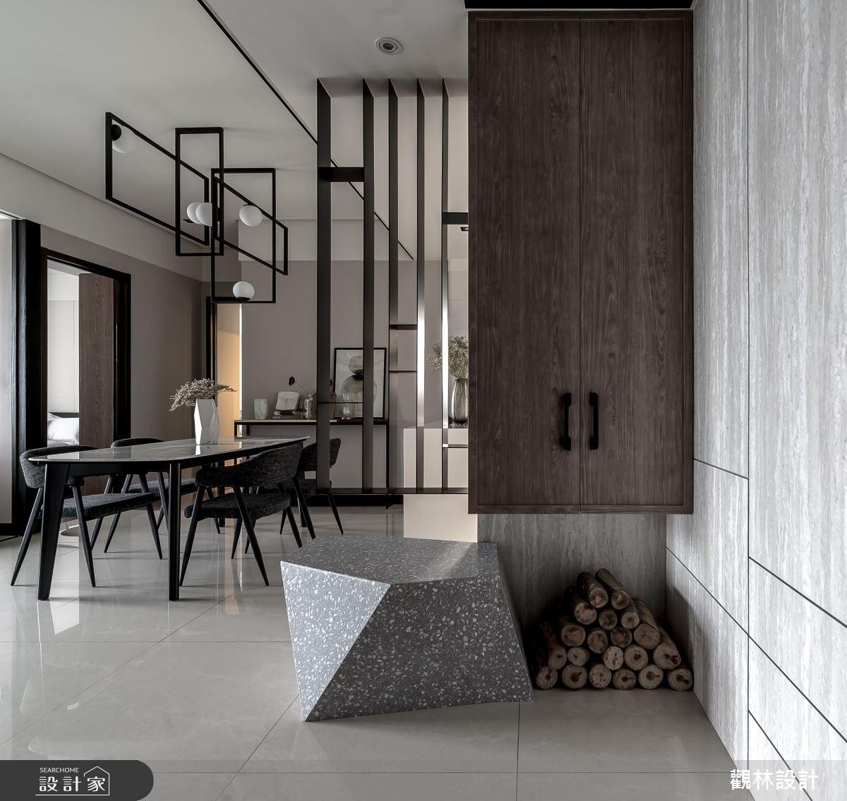 24坪新成屋(5年以下)_現代風玄關餐廳案例圖片_觀林設計_觀林_48之1