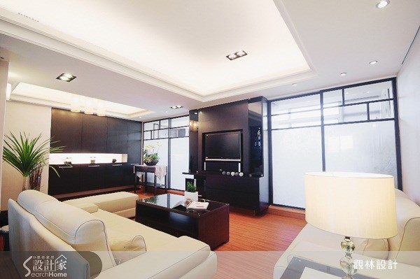60坪老屋(16~30年)_新中式風客廳案例圖片_觀林設計_觀林_10之2