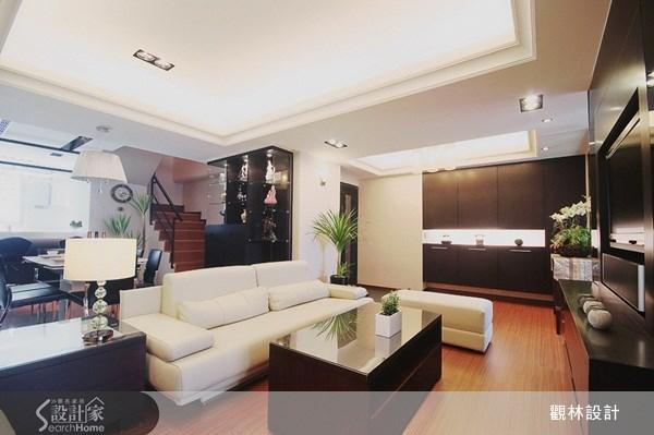 60坪老屋(16~30年)_新中式風客廳案例圖片_觀林設計_觀林_10之1