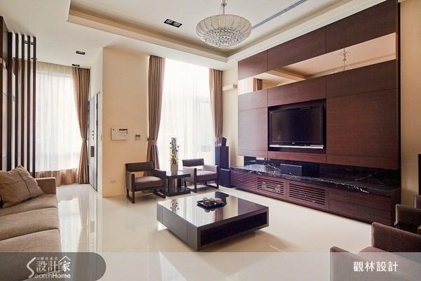 127坪新成屋(5年以下)_現代風客廳案例圖片_觀林設計_觀林_12之1