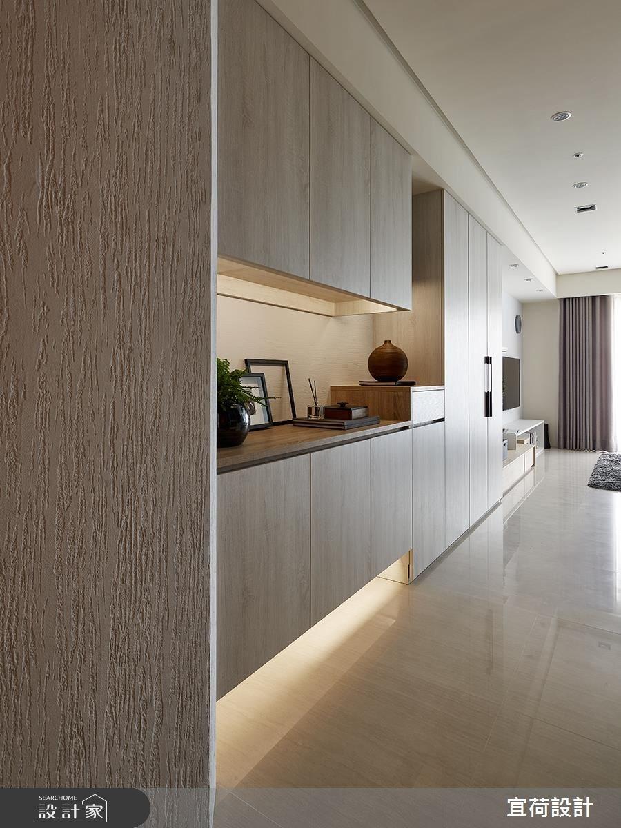 30坪新成屋(5年以下)_北歐風玄關客廳案例圖片_宜荷設計_宜荷_01之2