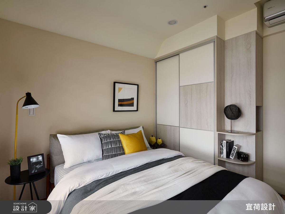 30坪新成屋(5年以下)_北歐風臥室案例圖片_宜荷設計_宜荷_01之23