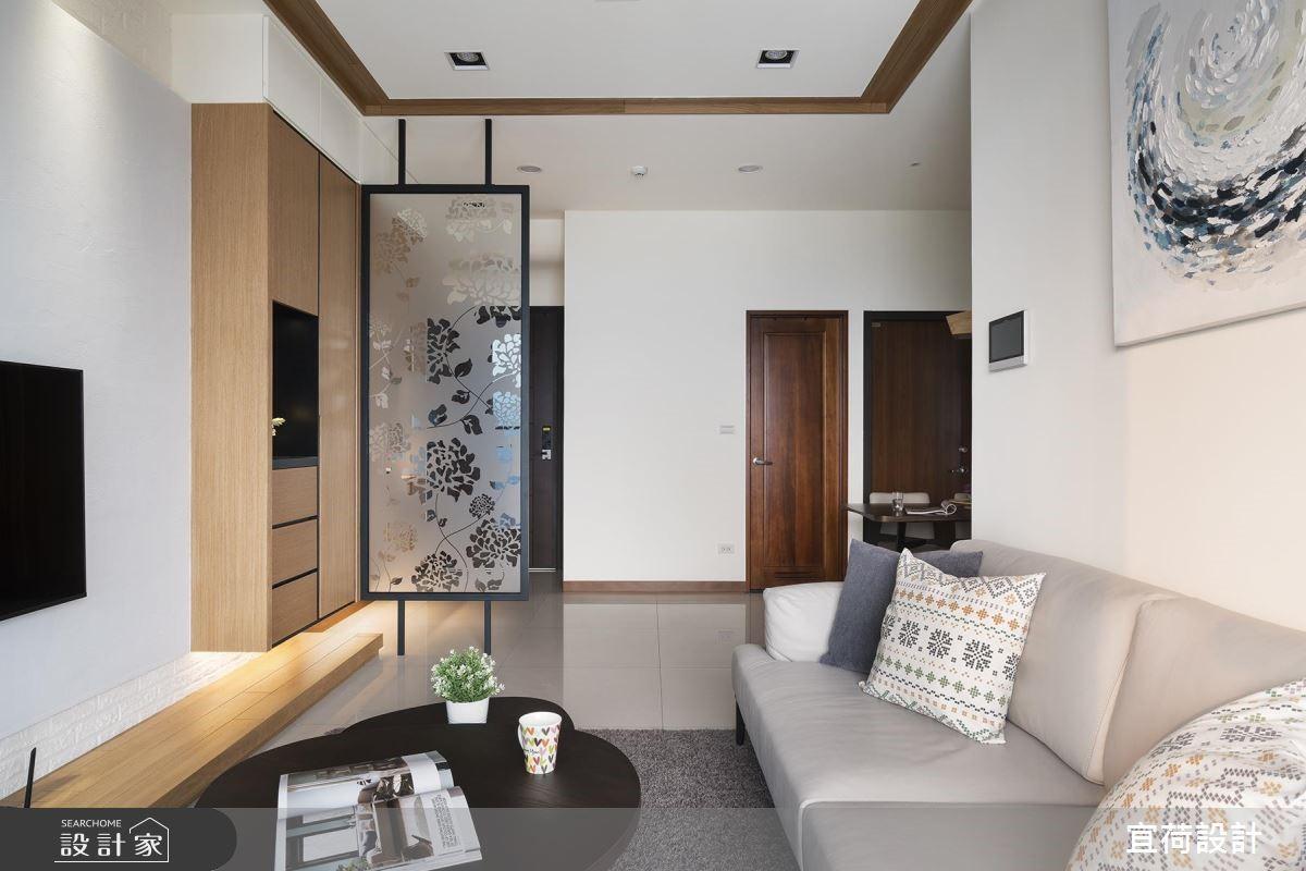25坪新成屋(5年以下)_休閒風客廳案例圖片_宜荷設計_宜荷_06之8