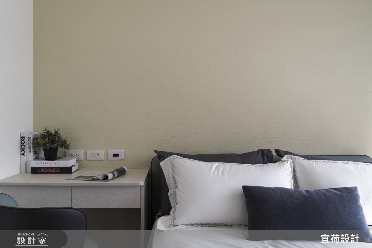 25坪新成屋(5年以下)_休閒風臥室案例圖片_宜荷設計_宜荷_06之16