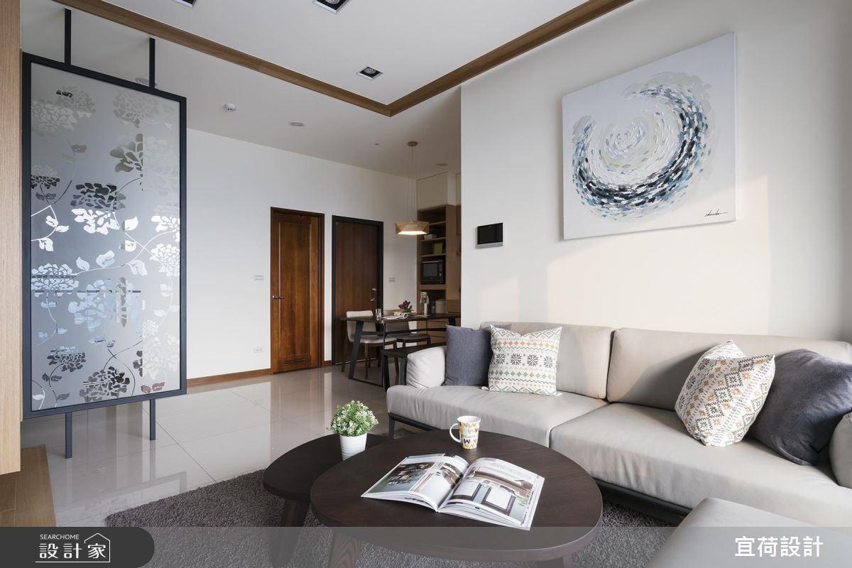 25坪新成屋(5年以下)_休閒風客廳案例圖片_宜荷設計_宜荷_06之9