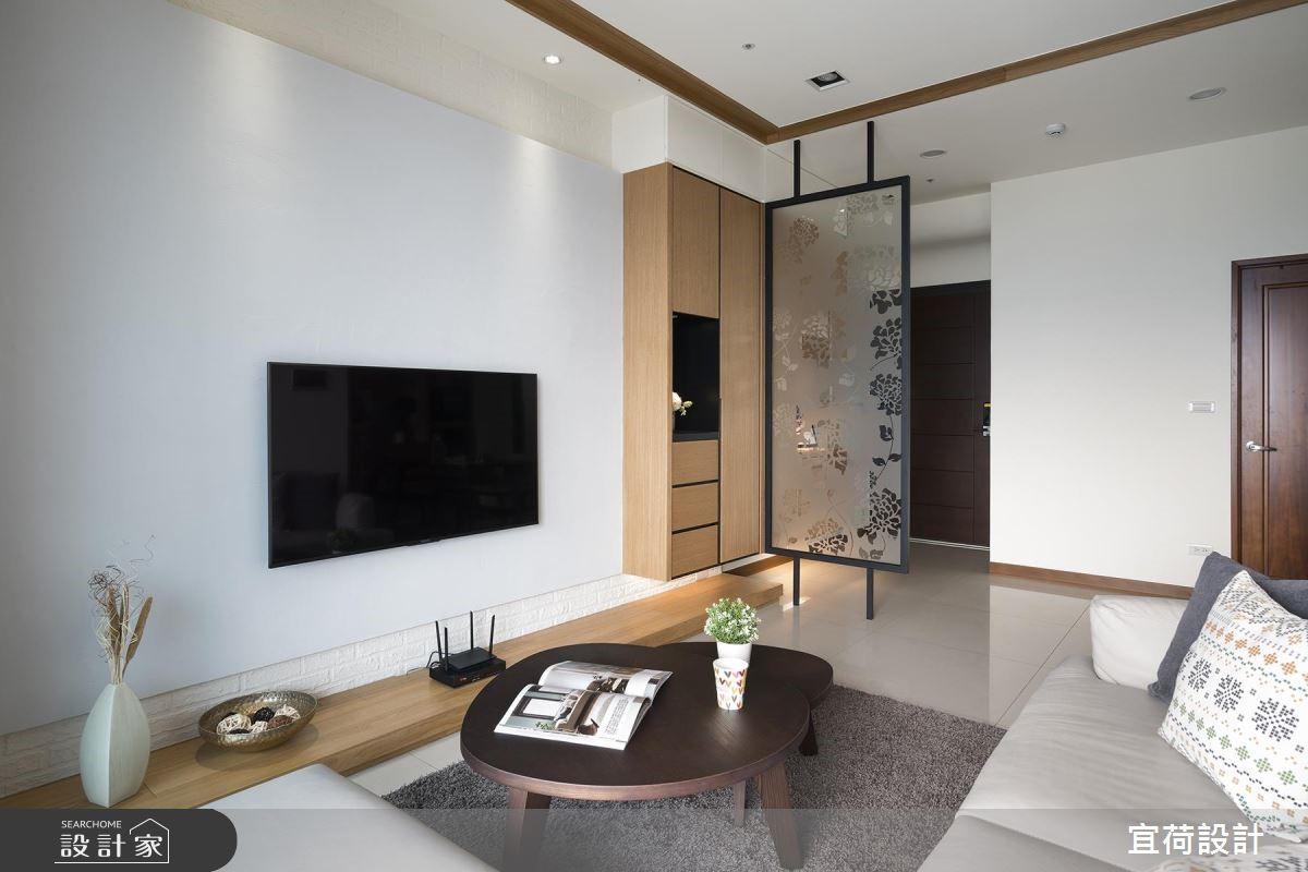 25坪新成屋(5年以下)_休閒風客廳案例圖片_宜荷設計_宜荷_06之7