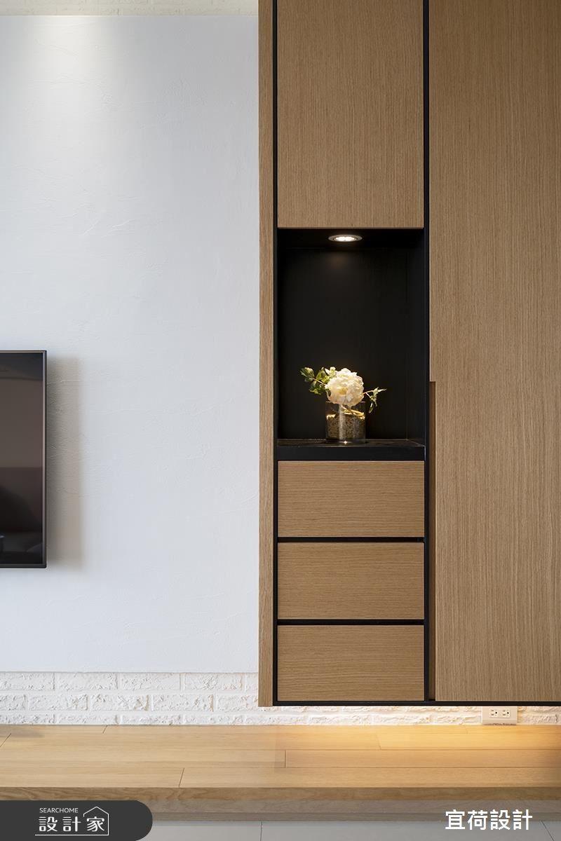 25坪新成屋(5年以下)_休閒風客廳案例圖片_宜荷設計_宜荷_06之12