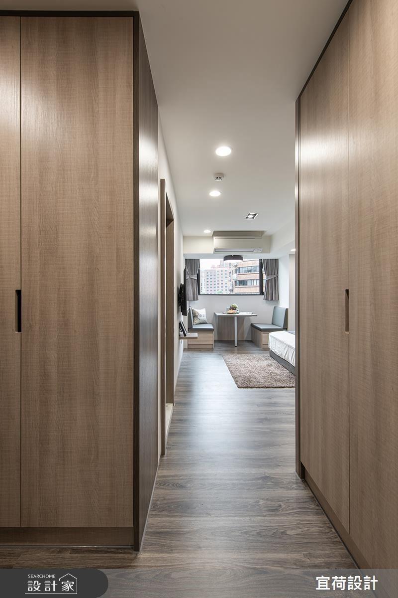 16坪老屋(16~30年)_簡約風走廊案例圖片_宜荷設計_宜荷_09之3