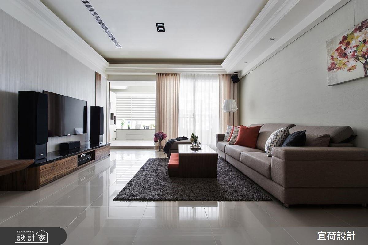 38坪新成屋(5年以下)_休閒風客廳案例圖片_宜荷設計_宜荷_10之239