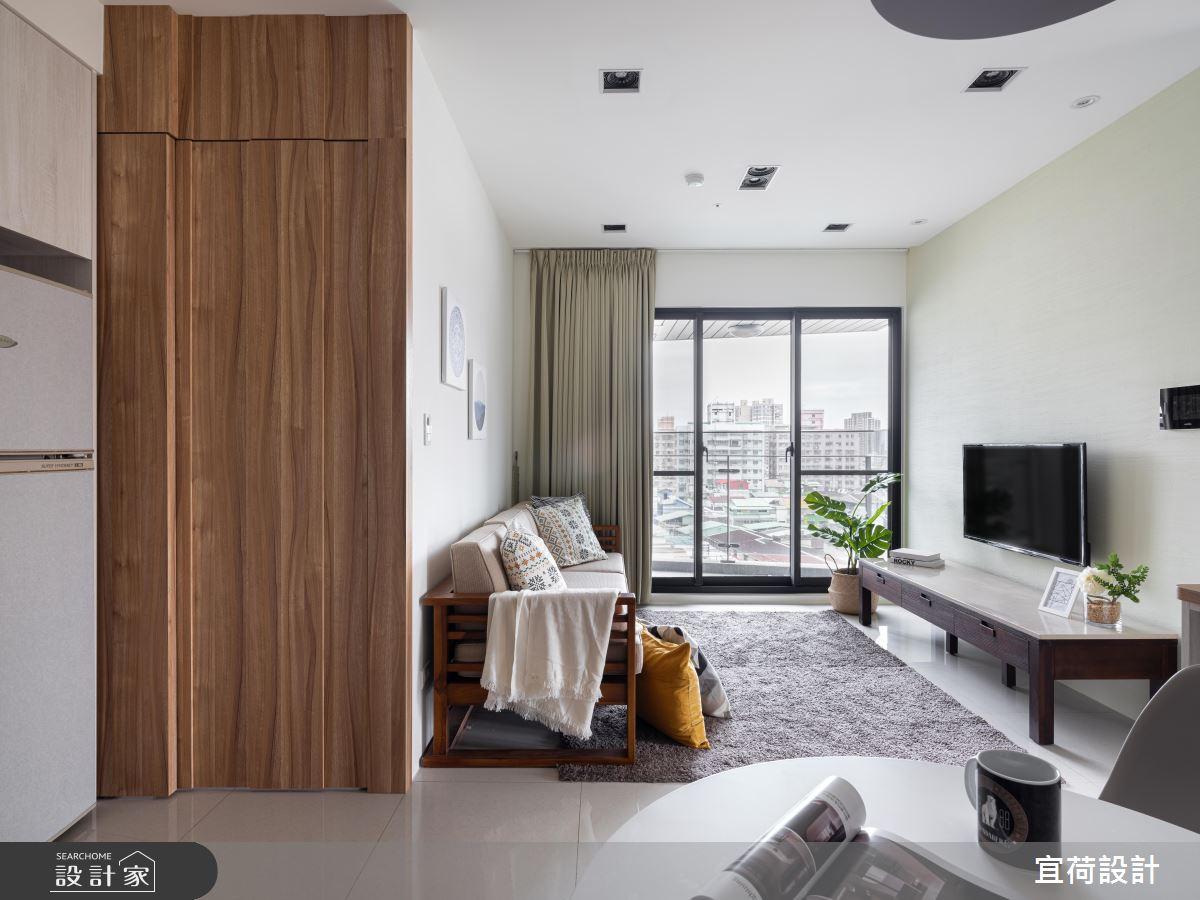 18坪新成屋(5年以下)_北歐風客廳案例圖片_宜荷設計_宜荷_21之3