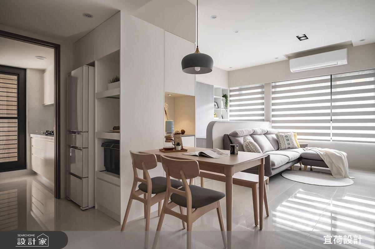 35坪新成屋(5年以下)_北歐風案例圖片_宜荷設計_宜荷_28之2