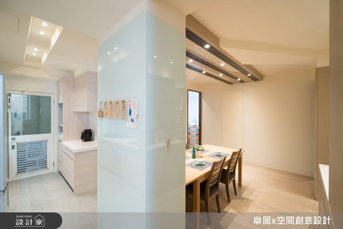 31坪老屋(16~30年)_北歐風餐廳案例圖片_阜居空間創意設計_阜居_02之4