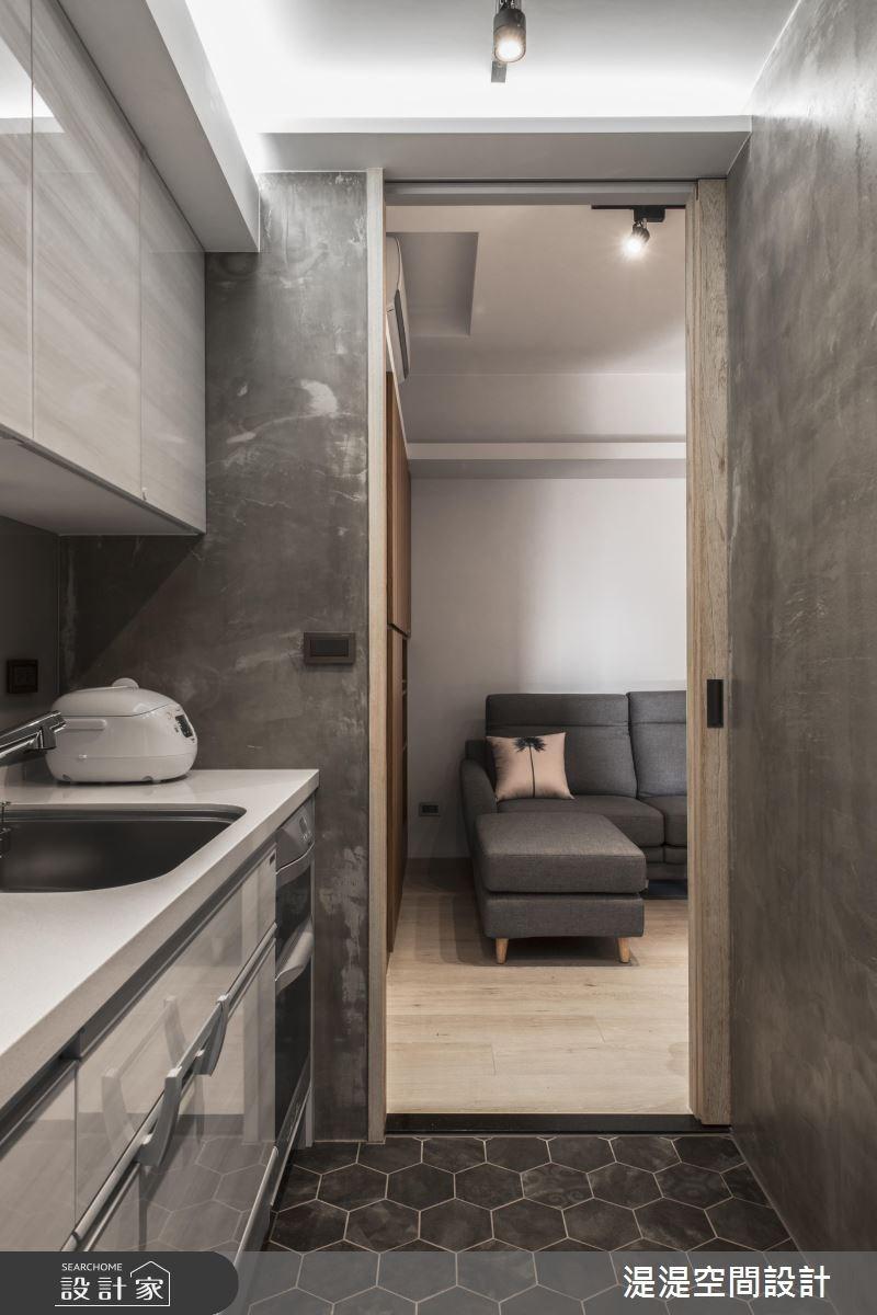 14坪中古屋(5~15年)_簡約風客廳廚房案例圖片_湜湜空間設計_湜湜_04之4