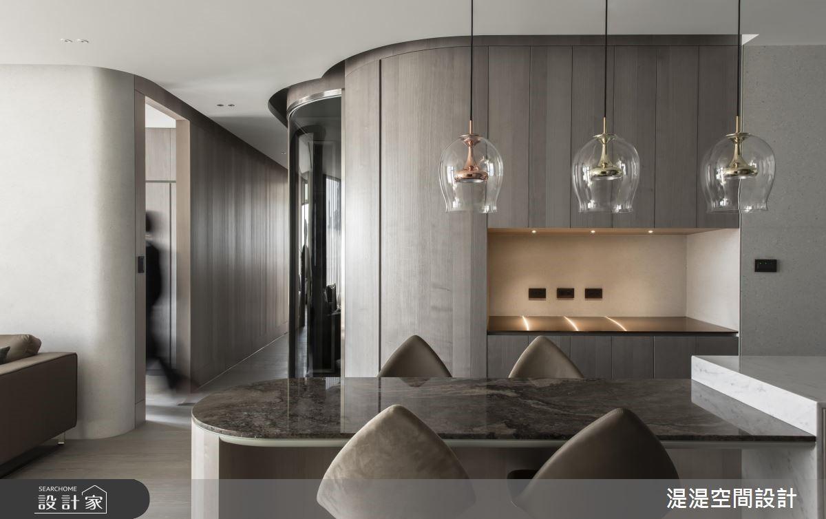 35坪新成屋(5年以下)_現代風餐廳案例圖片_湜湜空間設計_湜湜_16之4