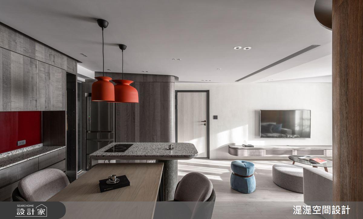 30坪老屋(16~30年)_混搭風餐廳案例圖片_湜湜空間設計_湜湜_17之4