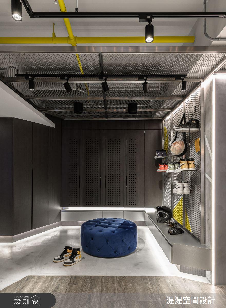 28坪新成屋(5年以下)_混搭風玄關案例圖片_湜湜空間設計_湜湜_18之3