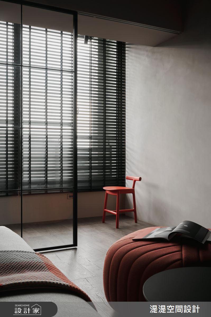 26坪中古屋(5~15年)_混搭風客廳案例圖片_湜湜空間設計_湜湜_26之5