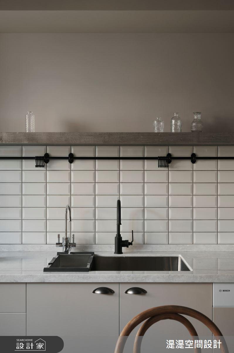 26坪中古屋(5~15年)_混搭風廚房案例圖片_湜湜空間設計_湜湜_26之13
