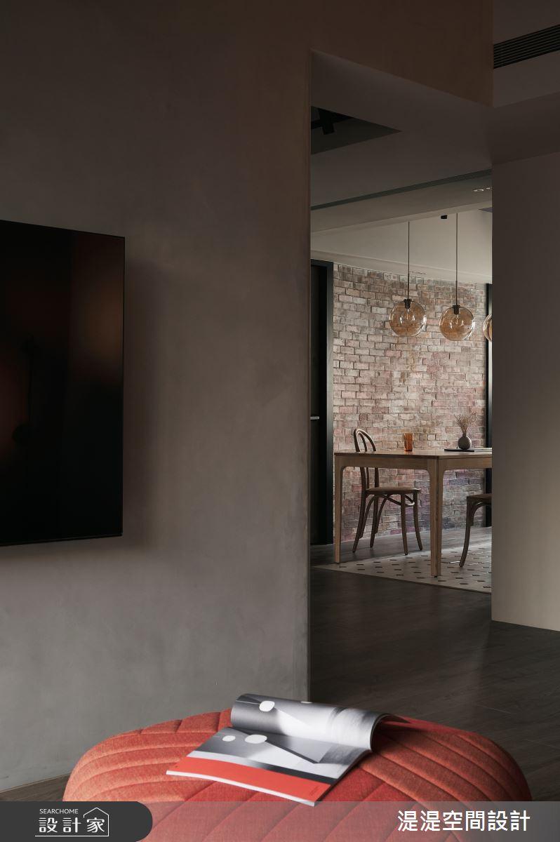 26坪中古屋(5~15年)_混搭風客廳案例圖片_湜湜空間設計_湜湜_26之10