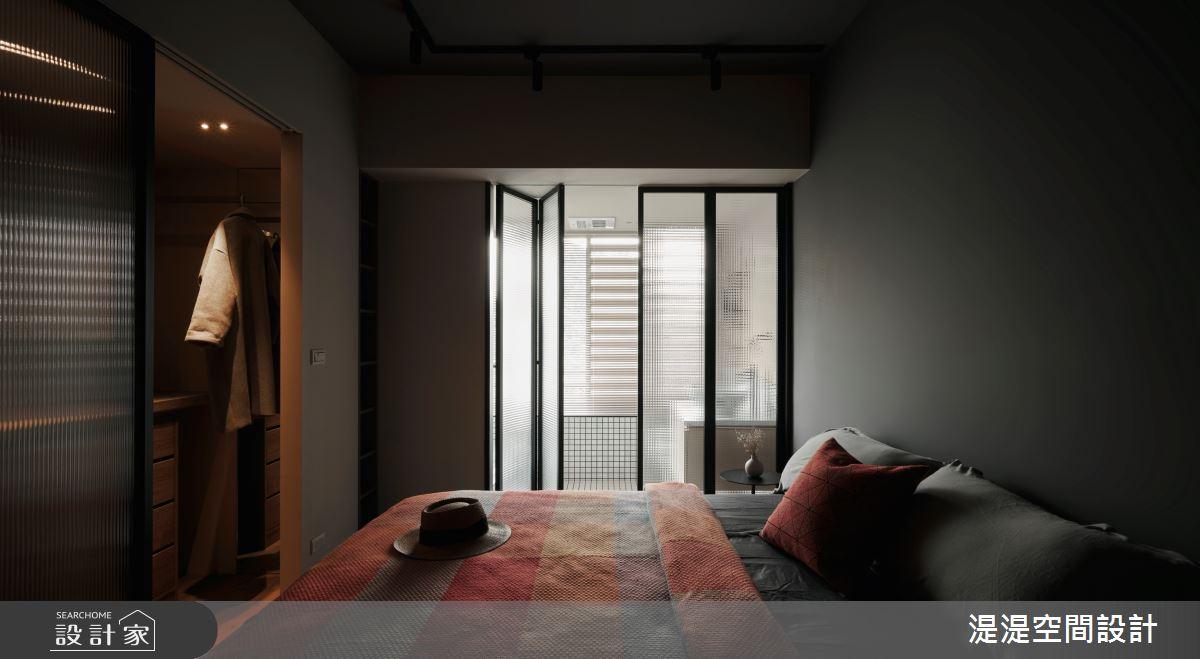 26坪中古屋(5~15年)_混搭風臥室案例圖片_湜湜空間設計_湜湜_26之19