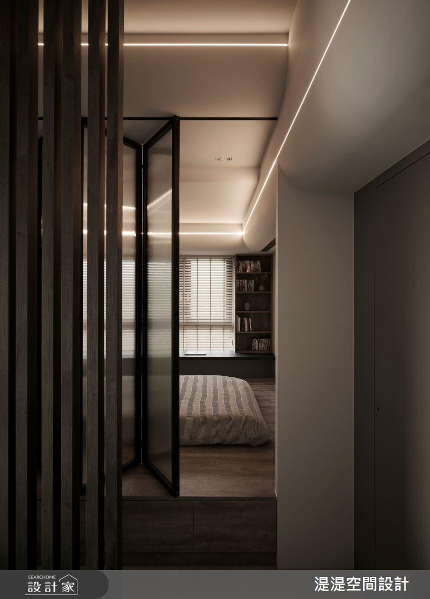 20坪新成屋(5年以下)_混搭風臥室案例圖片_湜湜空間設計_湜湜_27之11