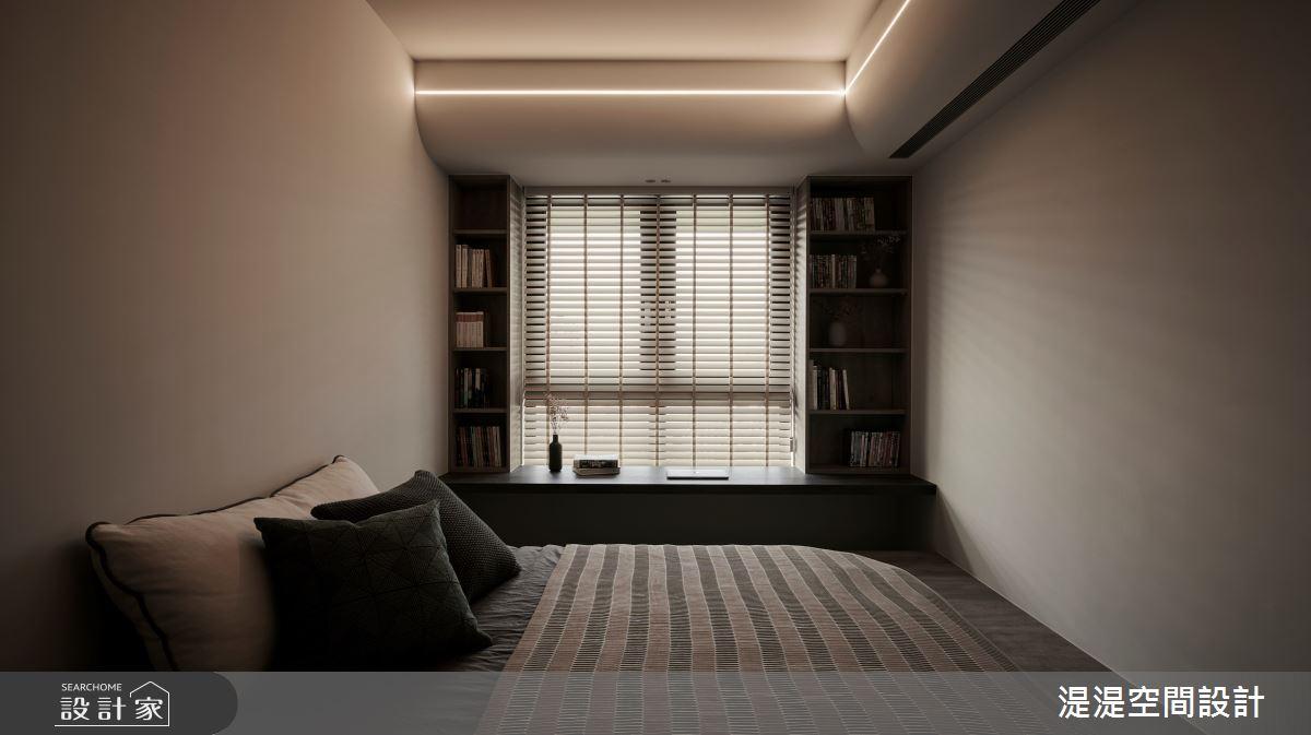 20坪新成屋(5年以下)_混搭風臥室案例圖片_湜湜空間設計_湜湜_27之12