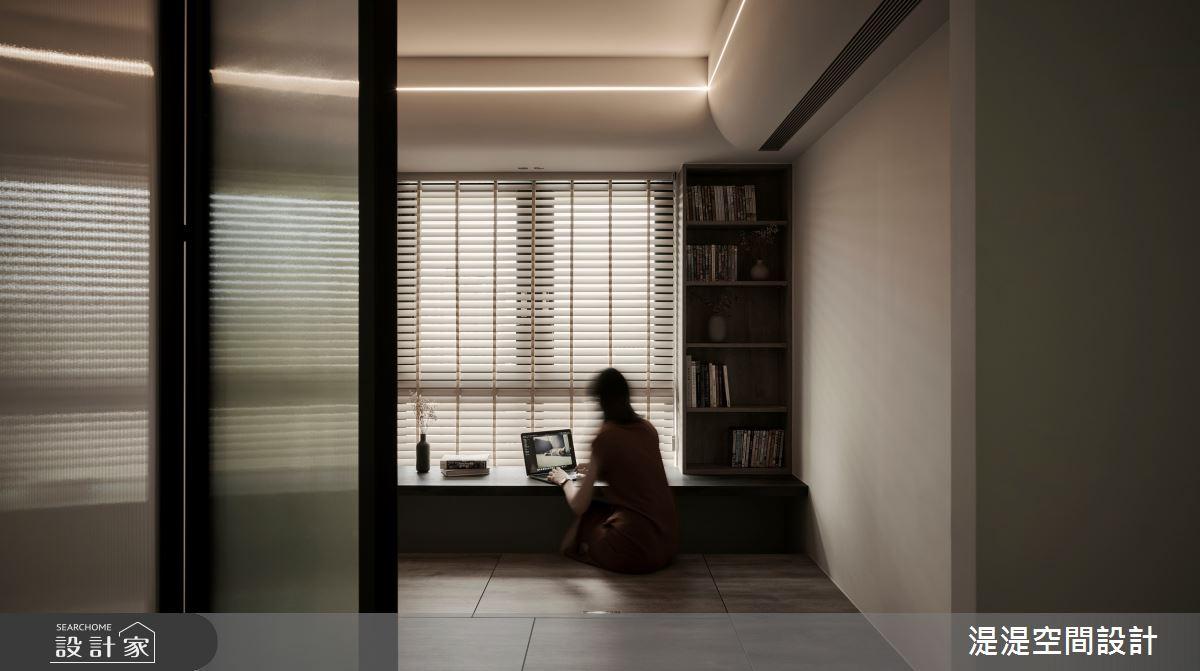 20坪新成屋(5年以下)_混搭風臥室案例圖片_湜湜空間設計_湜湜_27之13