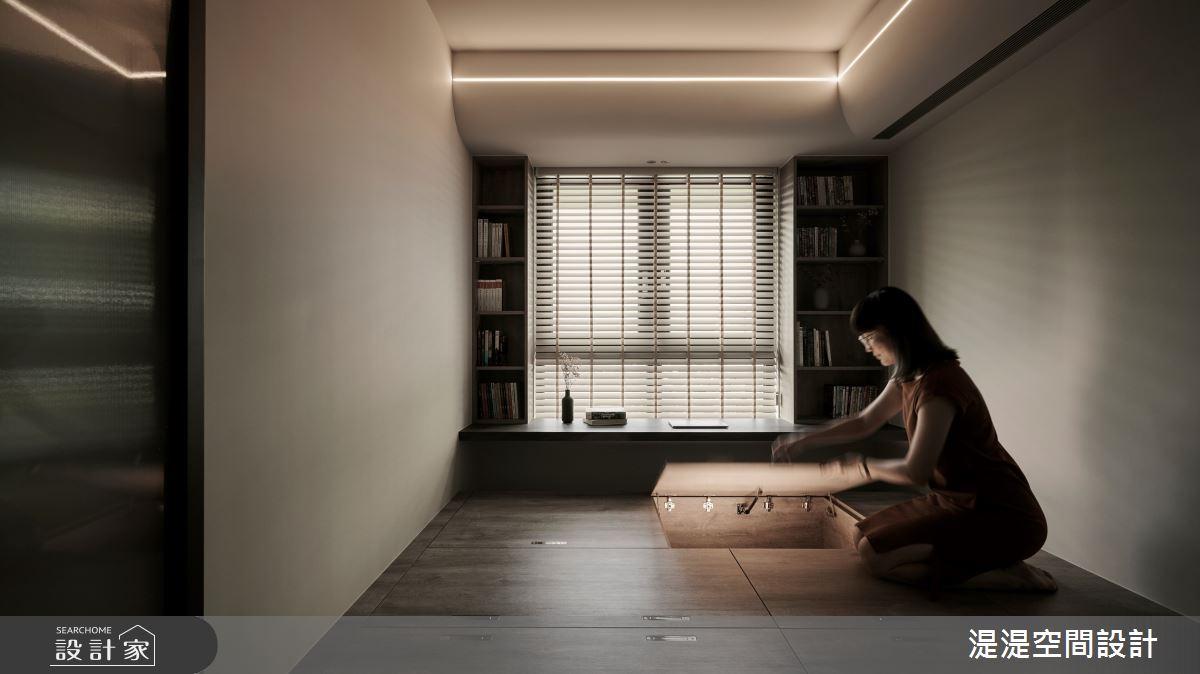 20坪新成屋(5年以下)_混搭風臥室案例圖片_湜湜空間設計_湜湜_27之14