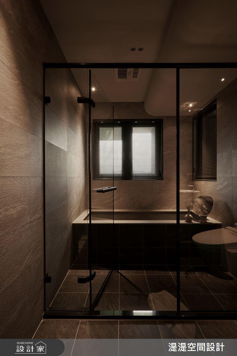 20坪新成屋(5年以下)_混搭風浴室案例圖片_湜湜空間設計_湜湜_27之18