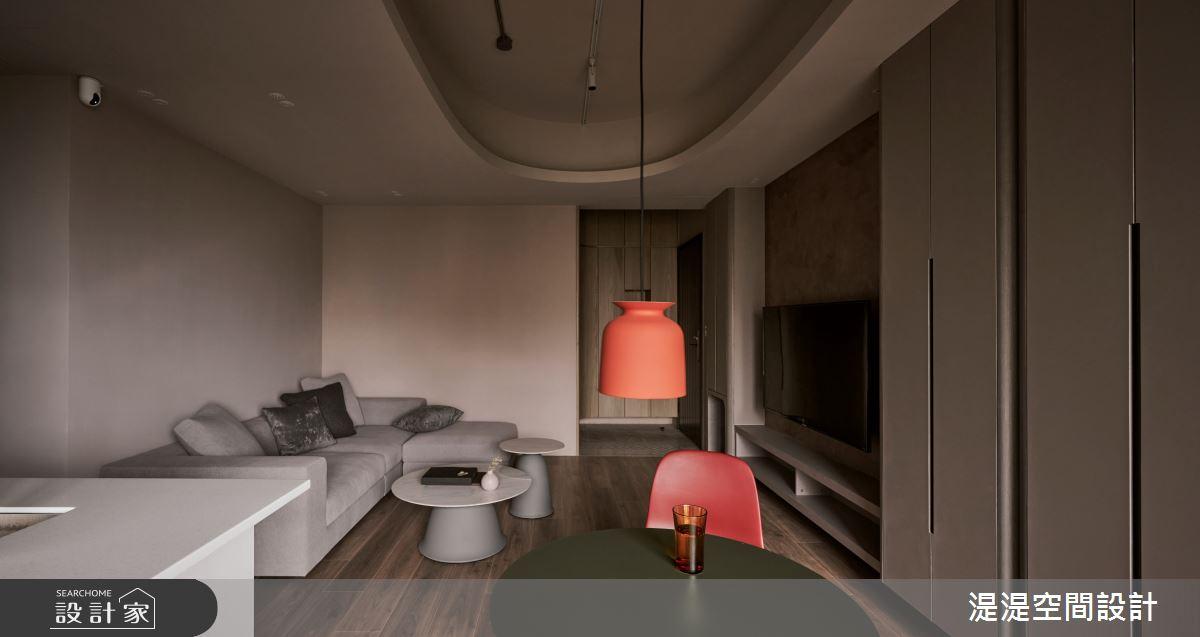 20坪新成屋(5年以下)_混搭風餐廳案例圖片_湜湜空間設計_湜湜_29之3