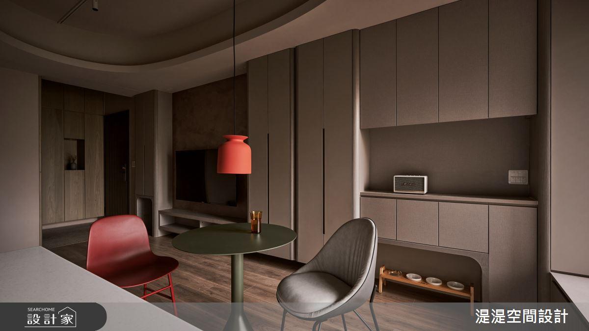 20坪新成屋(5年以下)_混搭風餐廳案例圖片_湜湜空間設計_湜湜_29之4